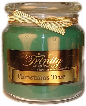Christmas Tree - Traditional - Soy Jar Candle - 18 oz