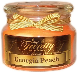 Georgia Peach - Traditional - Soy Jar Candle - 12 oz
