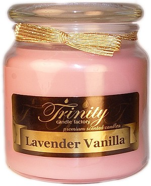Lavender Vanilla - Traditional - Soy Jar Candle - 18 oz