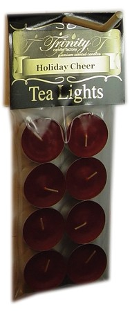 Holiday Cheer - Tea Light Candle - 8 Pack