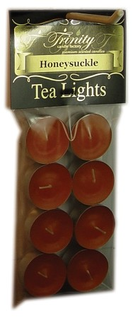 Honeysuckle - Tea Light Candle - 8 Pack