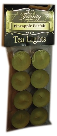 Pineapple Parfait - Tea Light Candle - 8 Pack