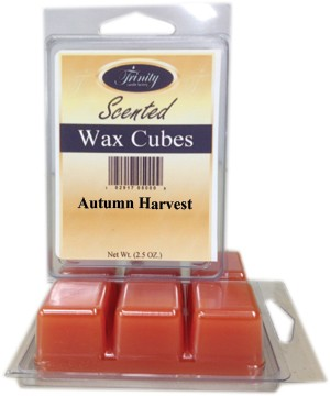Autumn Harvest - Scented Wax Cube Melts - 3.25 oz.