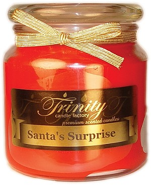 Santa's Surprise - Traditional - Soy Jar Candle - 18 oz